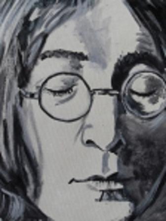 John Lennon by sashymashy